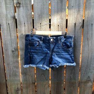 American Eagle Women's Blue Jean Shorts